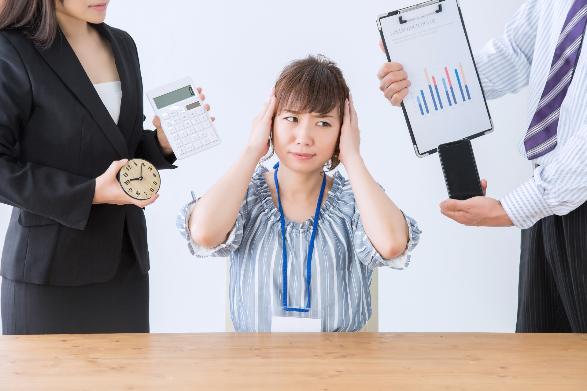 仕事とうつ病の関係、その症状とは?